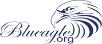 Blueagle Carpet Cleaning Company Logo